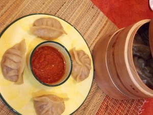 Chicken Momos with Chutney - Indian Curry Shack