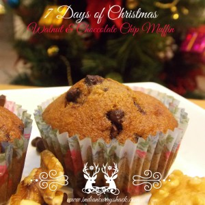 Day 5 - Walnut Chocolate Chip Muffin - ICS