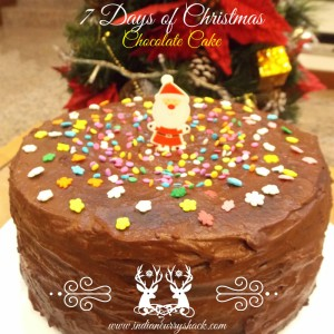 Day 7 - Chocolate Cake - ICS