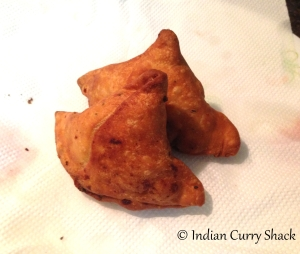 Samosas - Indian Curry Shack