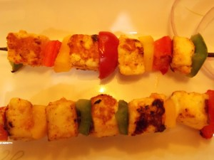 Adraki Paneer Tikka in Skewer - Indian Curry Shack