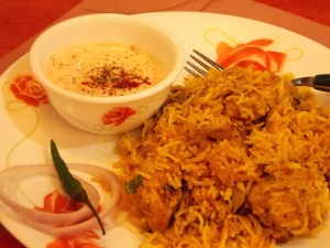 Chicken Biryani with Raita - Indian Curry Shack