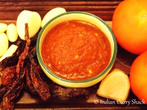 Red Chilli Garlic Chutney - ICS