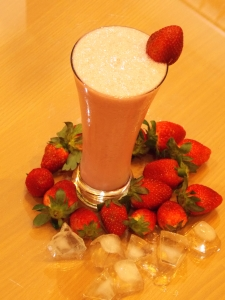 Strawberry Milk Shake1 - Indian Curry Shack