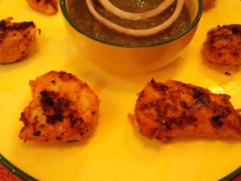 Adraki Murgh Tikka with Green Chutney - ICS