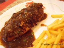Chicken Steak with French Fries - Indian Curry Shack