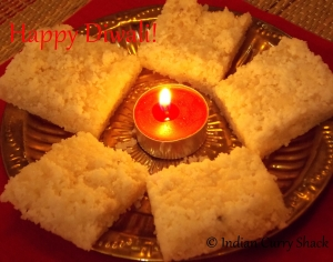 Nariyal (Coconut) Burfi - ICS