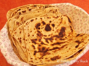 Plain Paranthas - Indian Curry Shack