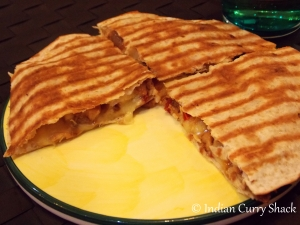 Chicken Quesadilla - Indian Curry Shack