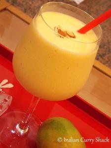 Mango Milk Shake - Indian Curry Shack