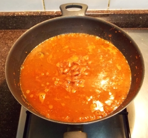 Rajma being cooked - Indian Curry Shack