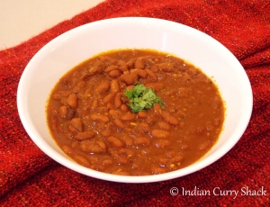 Rajma (Red Kidney Beans Curry) - Shack Saturdays Special