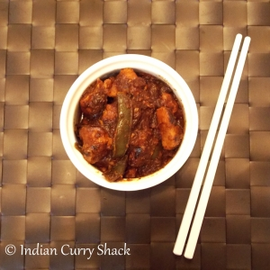 Black Bean Chicken with Chopsticks - Indian Curry Shack
