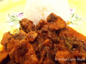 Black Bean Chicken with Steamed Rice - Indian Curry Shack