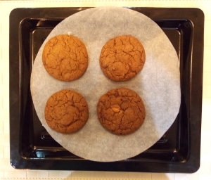Chocolate Chip Oat Cookies - baked - Indian Curry Shack