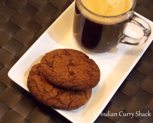 Chocolate Chip Oat Cookies - Indian Curry Shack