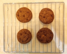 Chocolate Chip Oat Cookies - with Chocolate Chips - Indian Curry Shack