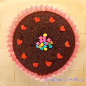 Chocolate Cup Cake - Indian Curry Shack