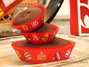 Christmas Cup Cakes - Indian Curry Shack