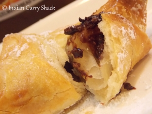Nutella Croissant - Indian Curry Shack