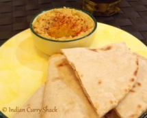 Pita Bread with Hummus - ICS