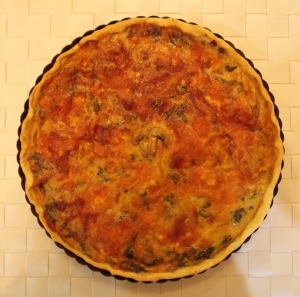 Quiche baked - Indian Curry Shack