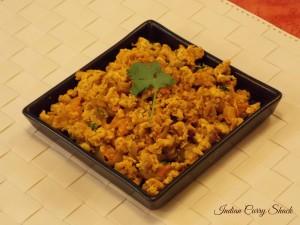 Egg Bhurjee - ICS