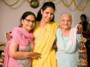 Mummy, Teana & Nani Maa