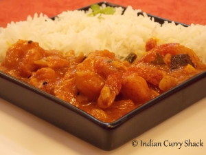 Prawn Curry - Indian Curry Shack