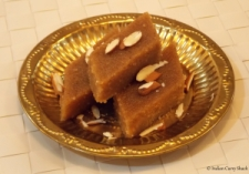 Sooji Ka Halwa - Sliced - Indian Curry Shack