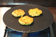 Chicken Ki Tikki being pan-fried2 - ICS