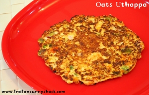 Oats Uthappa - Indian Curry Shack