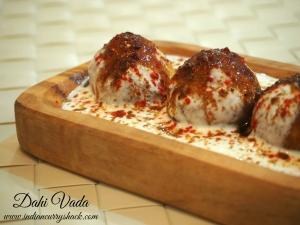 Dahi Vada - Indian Curry Shack