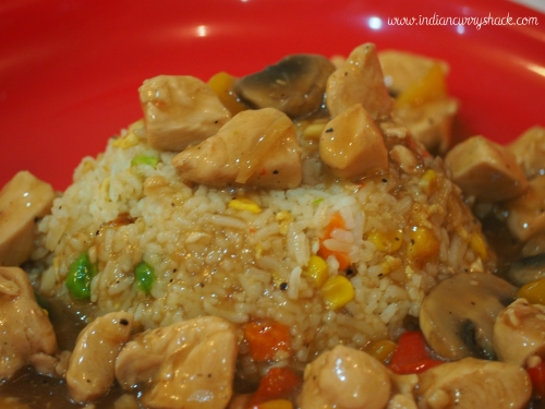 Chicken and mushrooms are a delight when had as a stew. This is a ...